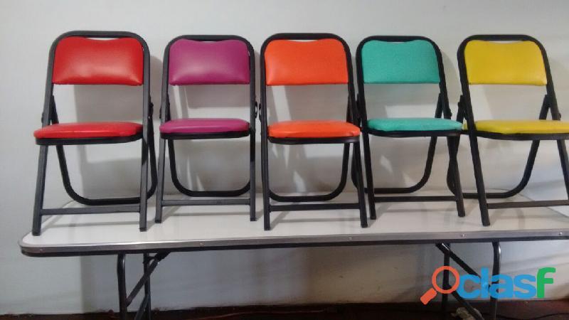 Venta de sillas infantiles acojinadas