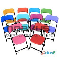 Venta de sillas de plastico infantiles de colores