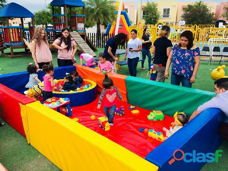 Renta de Gimnasio de estimulación para bebes en Monterrey