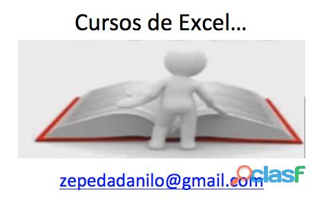 Cursos de Excel Intermedio, Básico y Avanzado 2