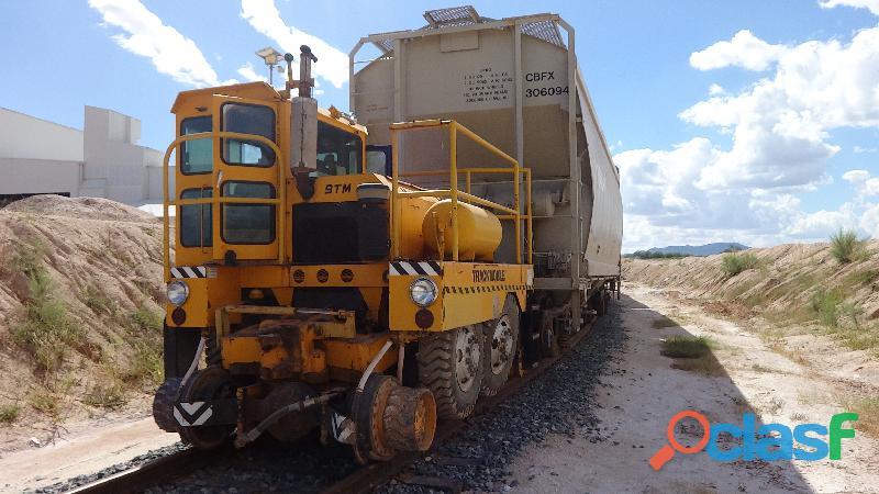 Tractor de arrastre ferroviario trackmobile renta venta