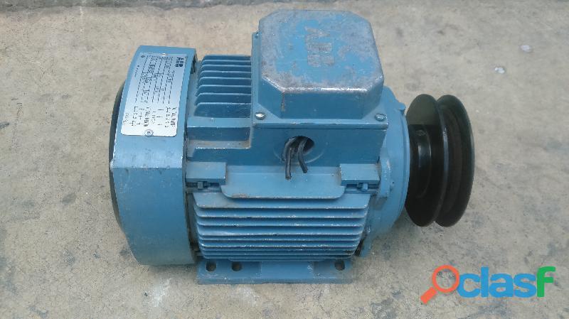 Motor electrico abb 3/4 hp semi nuevo