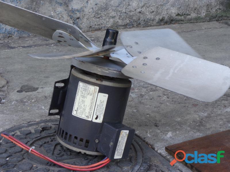 Motor ventilador 3/4 hp en baja emerson