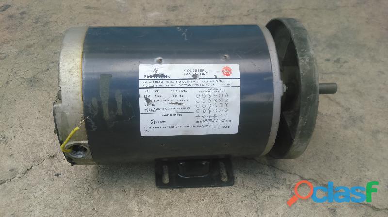 Motor electrico emerson 3/4 hp en baja