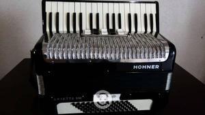 Acordeón hohner arietta iim 34 teclas 72 bajos
