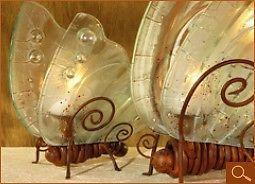 Candelabros mariposas