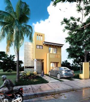 Ds casas nuevas en venta, playa del carmen de 3 recamaras