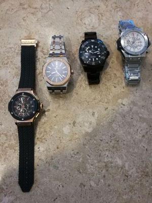 Super relojes marcas premium maquinaria japonesa