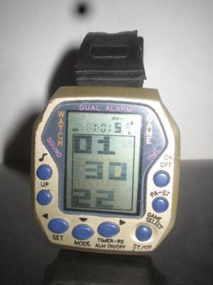 Watch game dual alarm vintage 99+