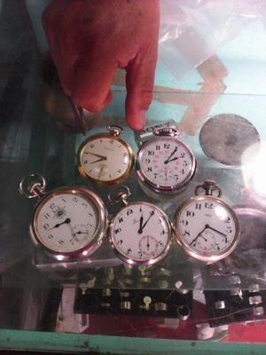 Lote de 5 relojes de bolsillo