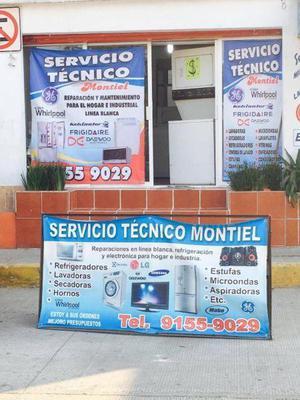 Centro de servicio técnico para linea blanca (lavadoras,