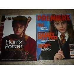Colección de revistas cine premiere harry potter y señor