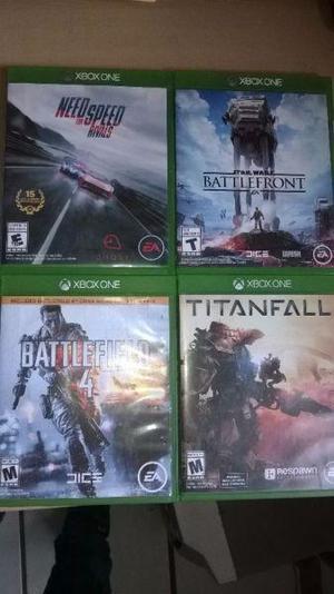 Juegos para xbox one battlefield 4, titanfall, star wars