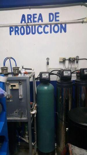 Se traspasa planta purificadora de agua con reparto