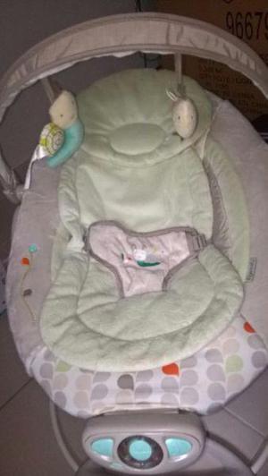 Vendo silla mecedora bebe ingenuity bouncer con sonido