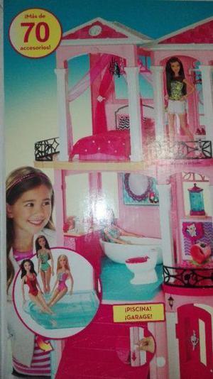 Casa de los sueños barbie cerrada de mattel