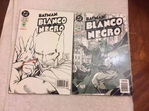 Comics batman blanco y negro tomo 1 y 2