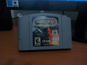 Asteroids hyper 64 para nintendo 64 n64 juegazo!