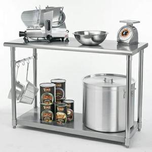 Mesa trabajo cocina acero clasf - Mesas de trabajo para cocina ...
