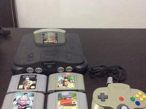 Nintendo 64 6 juegos impecable