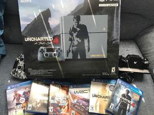 Ps4 uncharted+control+juegos
