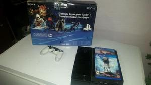 Play station 4, 500 gb, fifa y stars wars battlefront