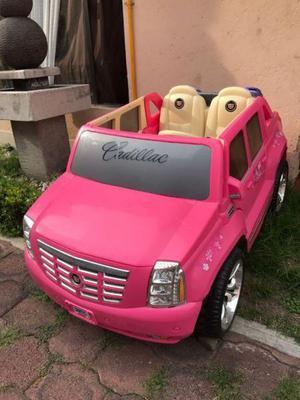 Cadillac escalade rosa de la barbie