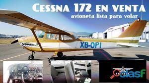 Avioneta cessna 172 en venta en mexico 2006