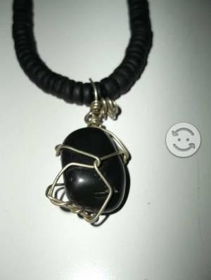 b632c1501208 Collar con dije de obsidiana en Monterrey   REBAJAS Junio ...