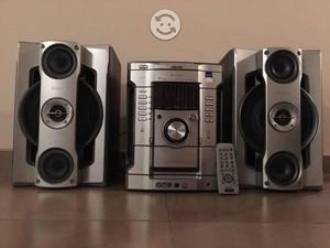Sony genezi mhc-gn600 pot. 3600w pmpo 165w x 2 rms