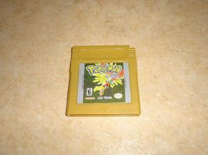 Juegos pokemon nintendo gameboy silver gold