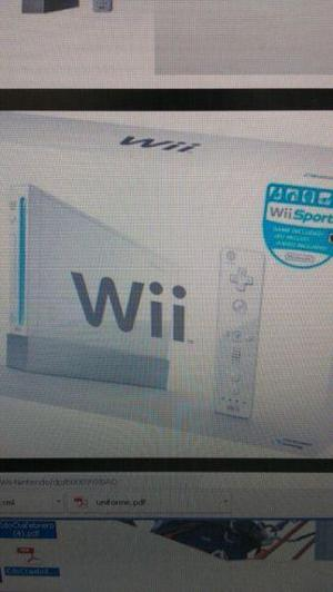 Wii seminuevo