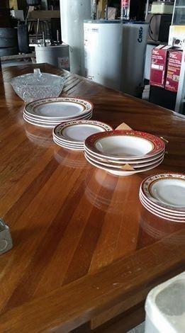 Botanero cristal platos varios