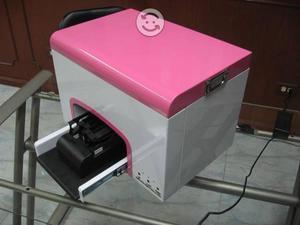 Impresora de uñas naturales, acrilicas y flores