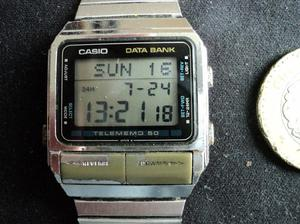 2bb5138257f9 Reloj casio data bank en Coyoacán   REBAJAS Junio