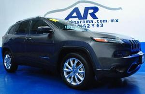 Jeep cherokee limited 2014 gris $ 319,000