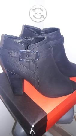 Botines guess negros