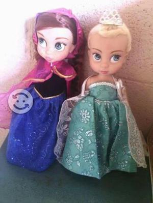 Muñecas tipo frozen