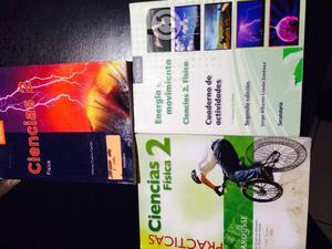 3 cuadernos ciencia fisica usados por 60.00 todos