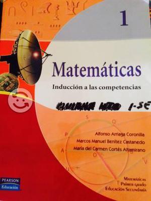 4 cuadernos matematicas usados por 80.00