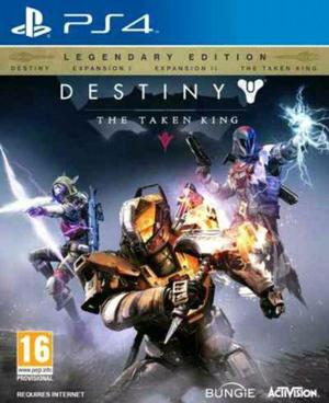 Destiny the taken king ps4 nuevo venta o cambio gamer