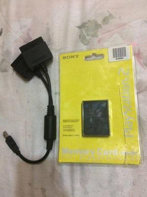 Memory card 8mb y adaptador
