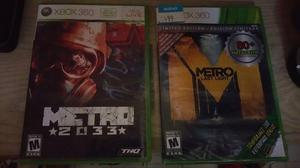 Metro 2033 y metro last light