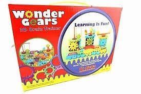 Wonder gears 3d juego didactico para niños 3+ set 81 pc