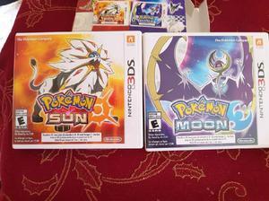 Pokemon sol y luna para nintendo 3ds