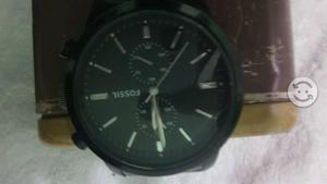 96f1a89625bb Reloj fossil negro acero   REBAJAS Mayo