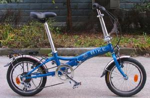 Lote de bicicletas plegables r16 con 6 velocidades