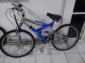 Vendo bicicleta azul