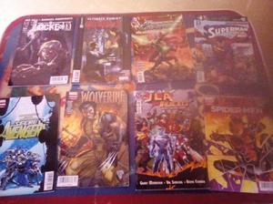 Comics surtidos 8 por $200
