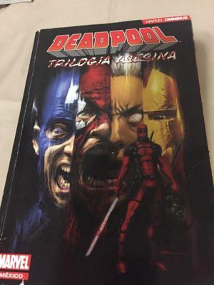 Deadpool trilogía asesina omnibus marvel cómics